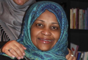 In this image provided by Hossein Hashemi, Marzieh Hashemi, poses for a photo. Marzieh Hashemi, a pr