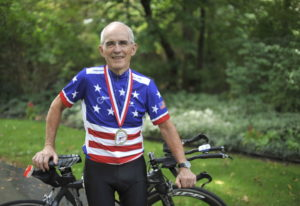 Carl Grove, 90, tested positive that traces of trenbolone, an anabolic steroid used by U.S. cattle f