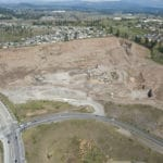 Condominium development in works at old rock quarry